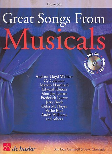 9789043110723: Great Songs from Musicals Trompette +CD