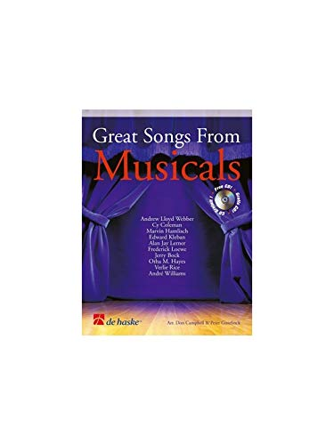 GREAT SONGS FROM MUSICALS (+CD) : FORHORN IN F OR B FLAT