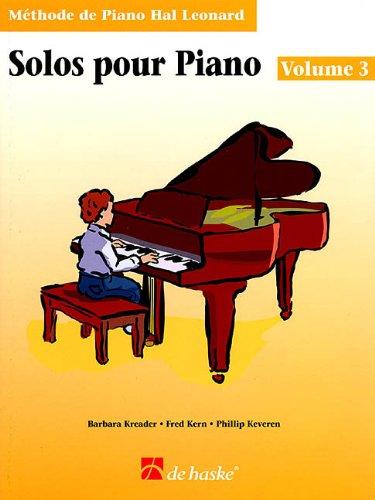 9789043110945: Solos pour Piano: Book 3