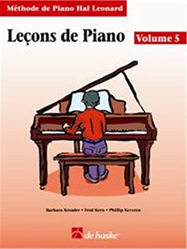 9789043110990: FRENCH PIANO LESSONS BOOK 5 HLSPL (Methode de Piano Hal Leonard)