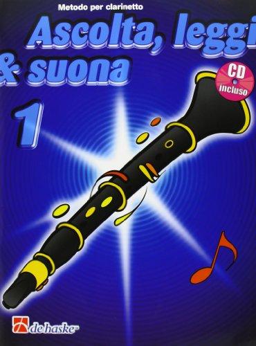 9789043111058: Ascolta, leggi & suona. Per la Scuola media. Con CD Audio: 1