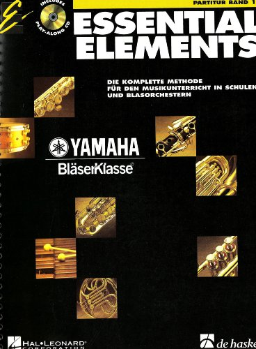 9789043112413: Essential Elements Band 1 - Partitur - BOOK+CD