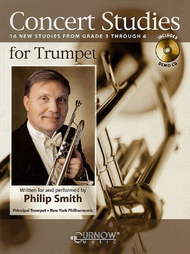 Concert Studies for Trumpet: Grade 3-6 [With: Smith, Philip (CRT)