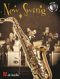 9789043113205: New Swing: Alto Sax/Tenor Sax (De Haske Play-Along Book)