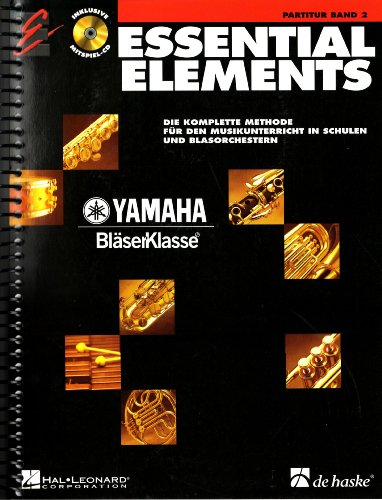 9789043114660: Essential Elements Band 2 - Partitur - BOOK+CD