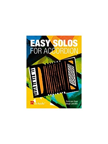 9789043115926: Easy Solos for Accordion
