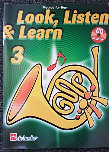 9789043116046: Look, Listen & Learn 3 Horn Cor +CD
