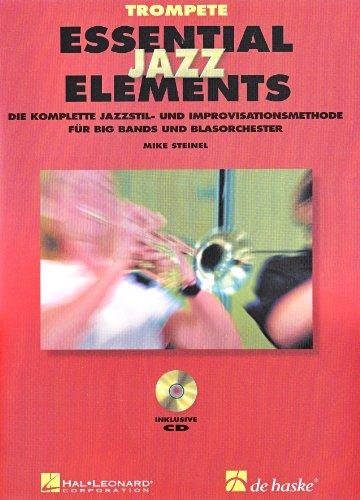 9789043116336: Essential jazz elements - trompete trompette+2cds