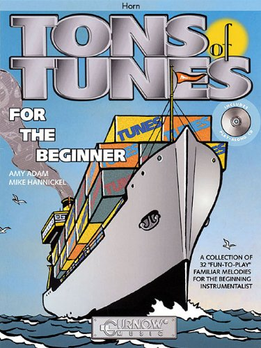 9789043117005: Tons of Tunes for the Beginner: F Horn