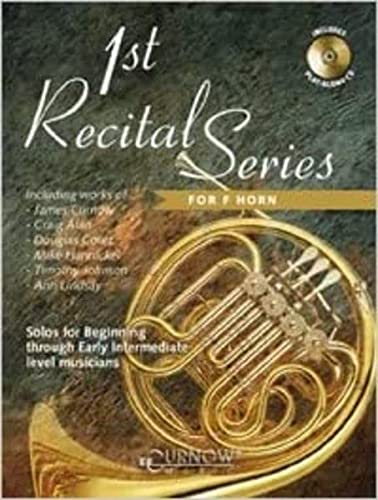 9789043117487: 1st Recital Series for F Horn