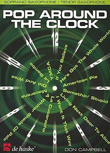Pop around the Clock (+CD) :for soprano/tenor saxophone