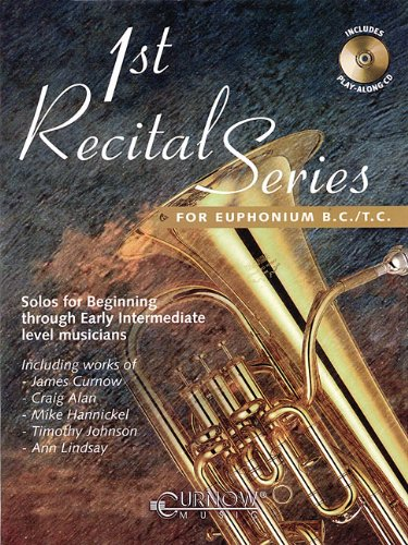9789043119092: First Recital Series: Euphonium B.C./T.C. (1st Recital)