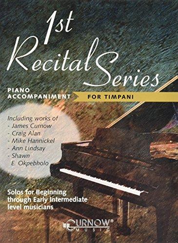 9789043119252: First Recital Series for Timpani: Piano Accompaniment for Timpani