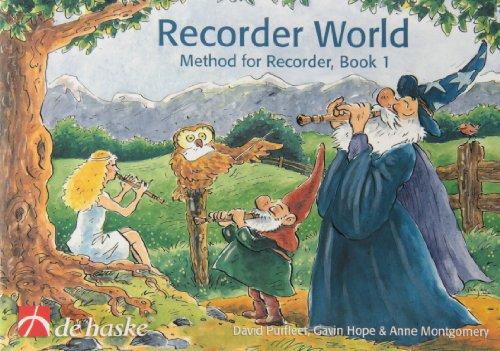 9789043119535: Recorder World - Book 1: Method for Recorder (De Haske Play-Along Book)