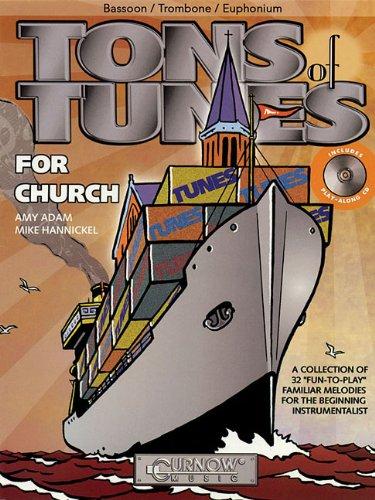 9789043119795: Tons of Tunes for Church: Bassoon/Trombone/Euphonium B.C./T.C. - Grade 0.5 to 1