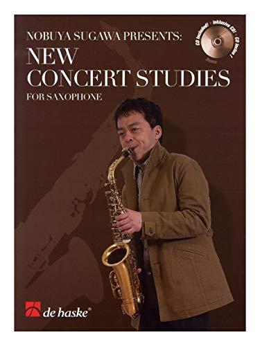 9789043120210: New Concert Studies for Saxophone