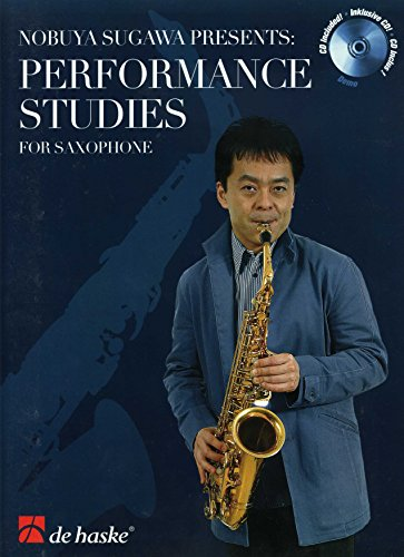Performance studies (+CD) : for saxophoneSugawa, Nobuya, ed