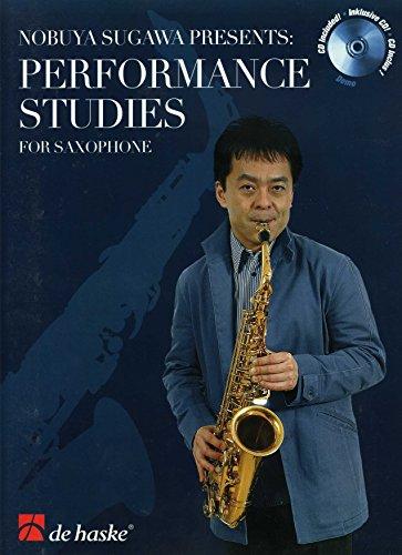 9789043120227: Performance Studies for Saxophone Saxophone +CD