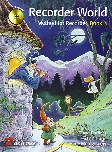9789043121002: Recorder World - Book 3: Method for Recorder (De Haske Play-Along Book)