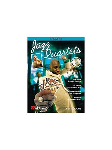 Jazz quartets (+CD) : for 4 trumpetsscore and parts: Bert Lochs