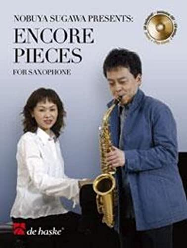 Encore Pieces (+CD) :for alto saxophone and piano