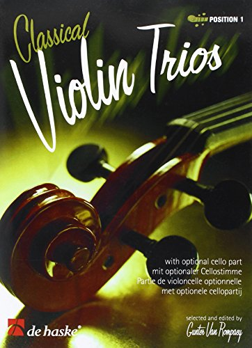 Classical violin trios (first position)score and parts
