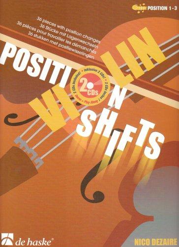 9789043122986: Position Shifts Violin Book/CD