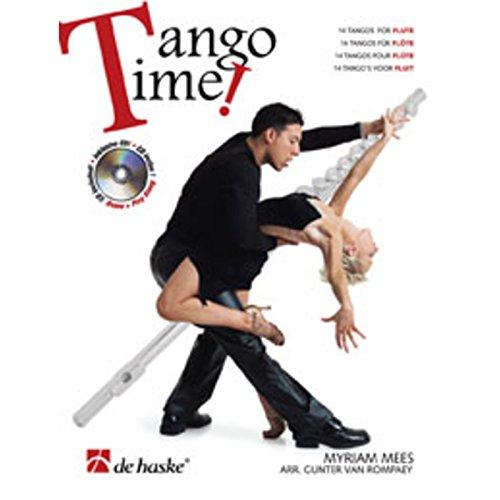 9789043123150: Tango Time: Flute (De Haske Play-Along Book)