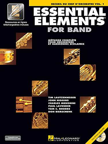 Essential Elements 2000 Plus DVD: Conductor's Score - French Edition (Chef D'Orchestre)