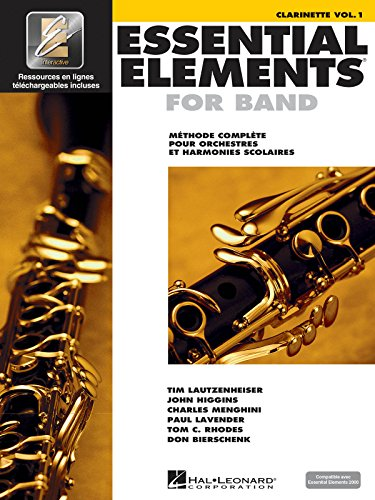 9789043123600: Essential Elements for Band avec EEi: Vol. 1 - Clarinette