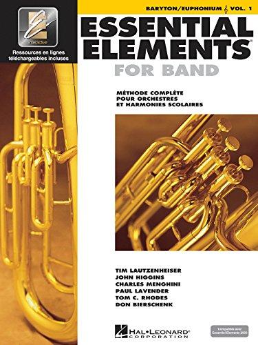 9789043123662: Essential Elements for Band Avec Eei: Vol. 1 - Baryton/Euphonium (Treble Clef)