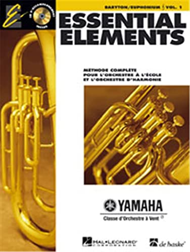 9789043123662: Essential Elements for Band avec EEi: Vol. 1 (French) - Baryton/Euphonium (Treble Clef)