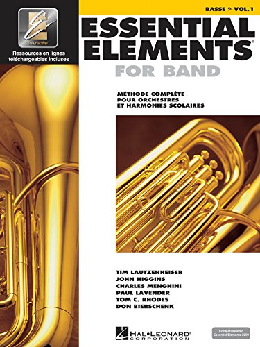 Essential Elements for Band - Bb Tuba T.C.: French Edition