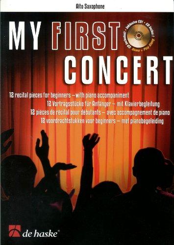 9789043124065: My First Concert Saxophone +CD