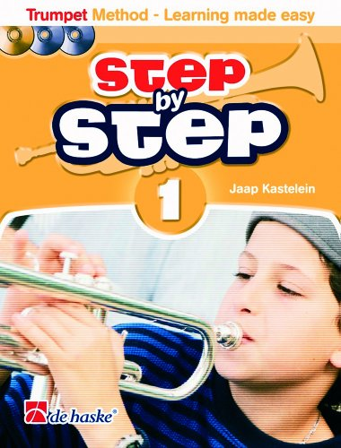 9789043124119: Step By Step 1 Trumpet Trompette +CD