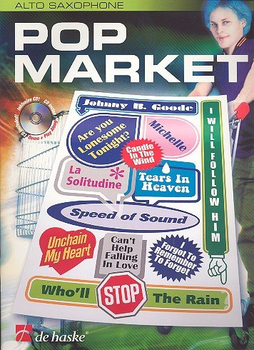 Pop Market (+CD) : for saxophone in Es