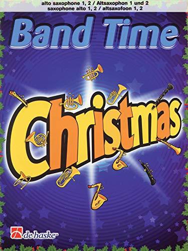 9789043125369: Band Time Christmas: Alto Sax 1, 2 (De Haske Play-Along Book)