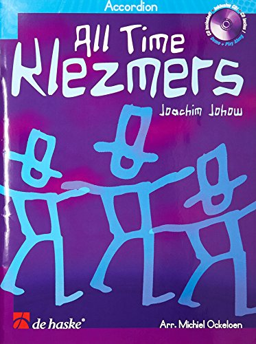 9789043125673: All Time Klezmers: Accordion (De Haske Intl Play Along Book)