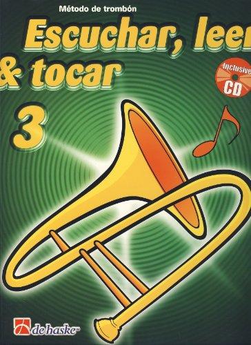 9789043125895: BOERSTOEL y KASTELEIN - Escuchar, Leer y Tocar (Metodo) Vol.3 para Trombon en Do (BC) (Inc.CD)