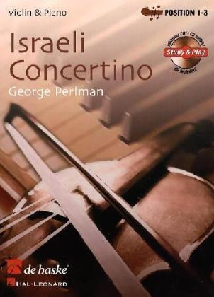 9789043127103: Israeli Concertino Bk/cd Vln & Piano Position 1-3 (easy -intermd) (De Haske Play-Along Book)