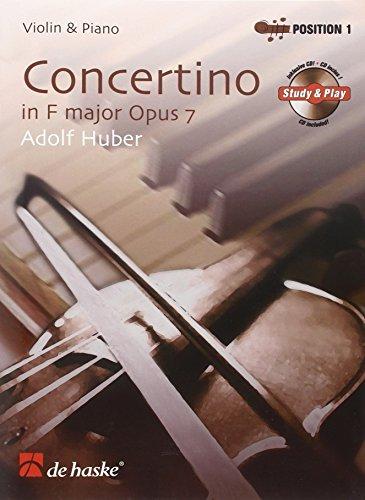 9789043127240: Concertino in F Major Opus 7 Violon +CD