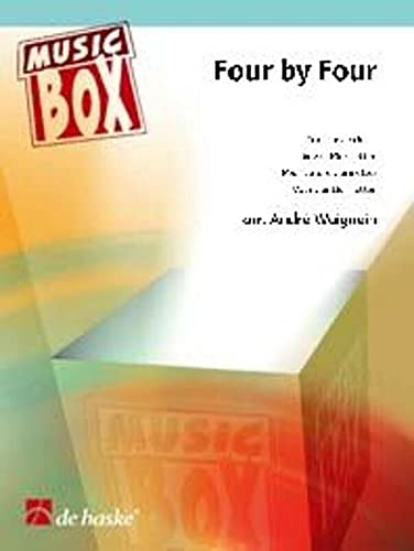 Four by Four : für 4 KlarinettenPartitur und Stimmen