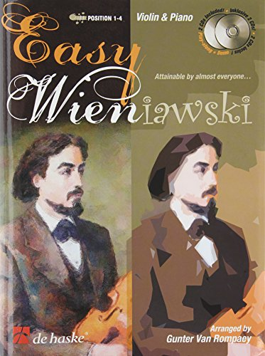 Easy Wieniawski (+ 2 CD's) :for violin and piano: Henri Wieniawski