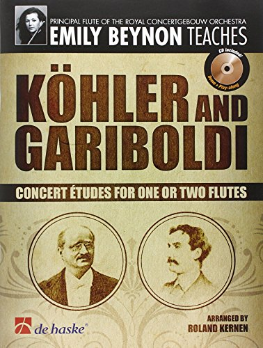 9789043128155: Emily Beynon Teaches: Kohler and Gariboldi Flûte Traversiere +CD