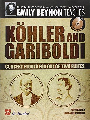 9789043128155: Emily Beynon Teaches: Kohler And Gariboldi Concert Etudes For 1 Or 2 Flutes Bk/cd