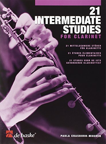 9789043128186: 21 intermediate studies for clarinet clarinette