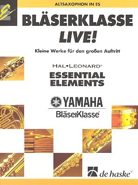 9789043128827: Bläserklasse Live - Altsaxophon