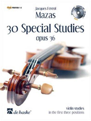 9789043130271: 30 Special Studies Opus 36