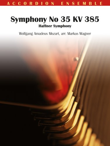 9789043130844: Symphony no 35 KV 385 accordeon-partition+parties separees