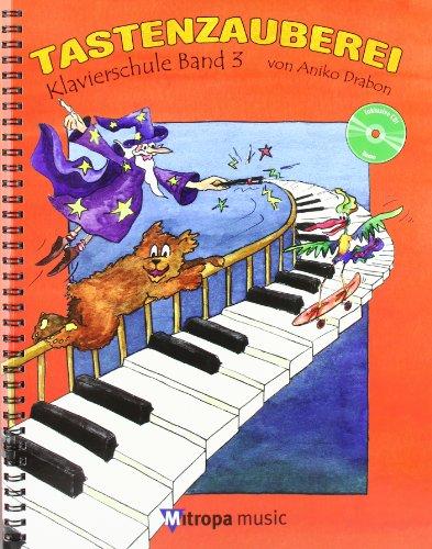 9789043130868: Tastenzauberei Band 3 - Piano - BOOK+CD